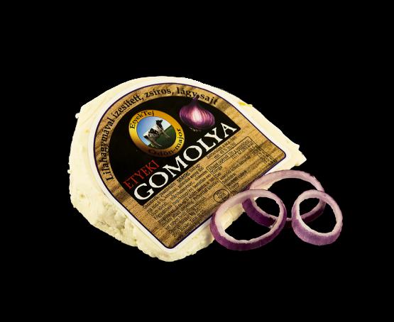 Etyeki Gomolya sajt lilahagymás