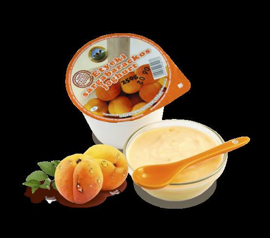 Etyeki Gyümölcsös Joghurt sárgabarackos (250g)
