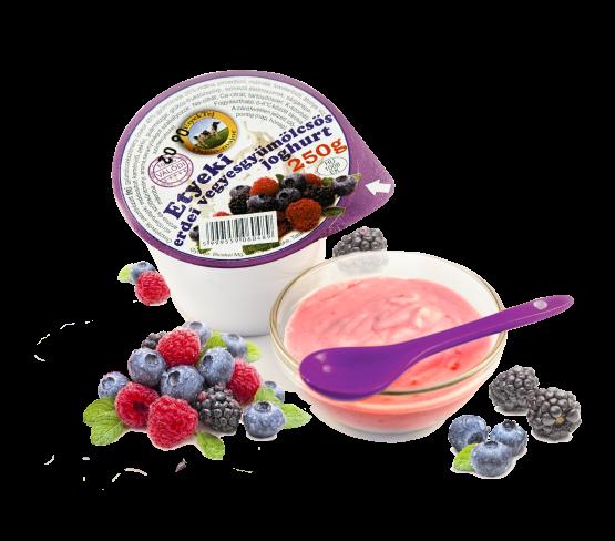 Etyeki Gyümölcsös Joghurt erdei vegyesgyümölcsös (250g)